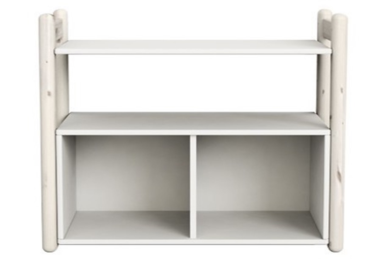 shelving with thumb shelf whitewash system classic bookcase